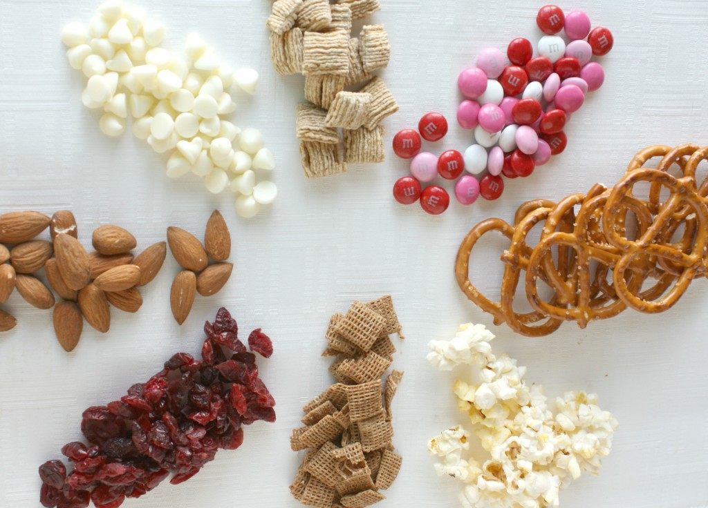 Valentine's Snack Mix Ingredients www.herviewfromhome.com