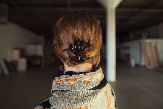 Secure the Hair Clip in 4 Easy Steps www.herviewfromhome.com