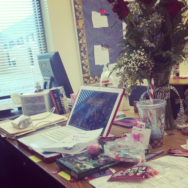 A Love/Hate Relationship With Valentine's Day www.herviewfromhome.com