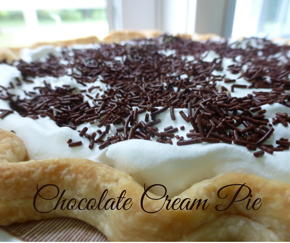 Over-Achiever Chocolate Cream Pie www.herviewfromhome.com