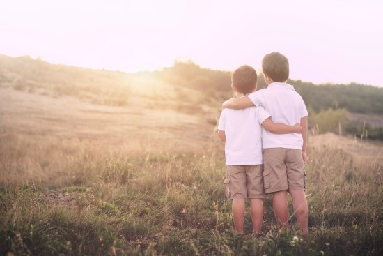 A Miraculous Truce Between Brothers www.herviewfromhome.com