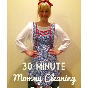 The 30 Minute Mommy Cleaning Schedule