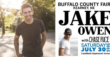 Jake Owen and Chase Rice Concert - Ticket Giveaway! www.herviewfromhome.com
