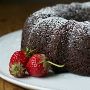 Easy Chocolate Chocolate Bundt Cake