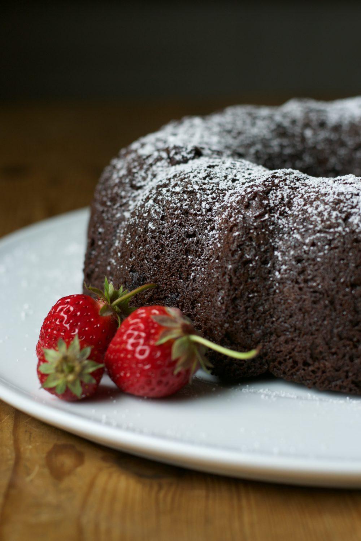 Chocolate Chocolate Bundt Cake www.herviewfromhome.com
