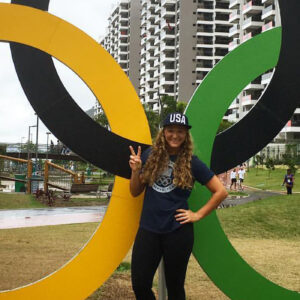 "First-time Olympian, Maggie Malone, believes ""God led me here"""
