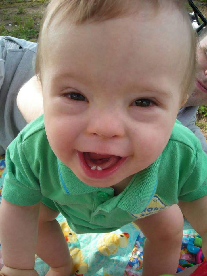 October is Down Syndrome Awareness Month www.herviewfromhome.com