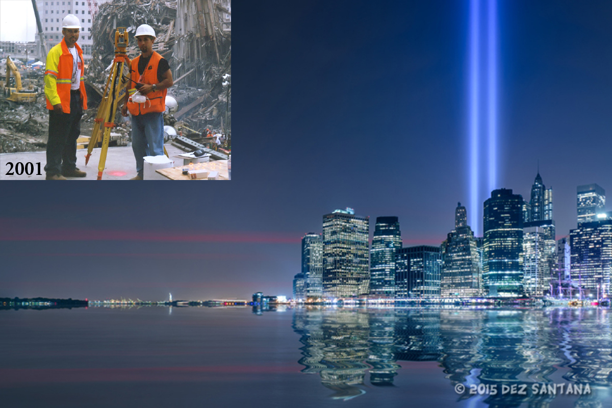"Dez Santana's Story: Ensuring the Safety of First Responders at ""Ground Zero"" www.herviewfromhome.com"