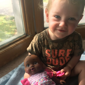 Why I Bought My White Son A Black Baby Doll