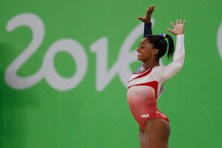 To Simone Biles from a Parent of a child with ADHD www.herviewfromhome.com