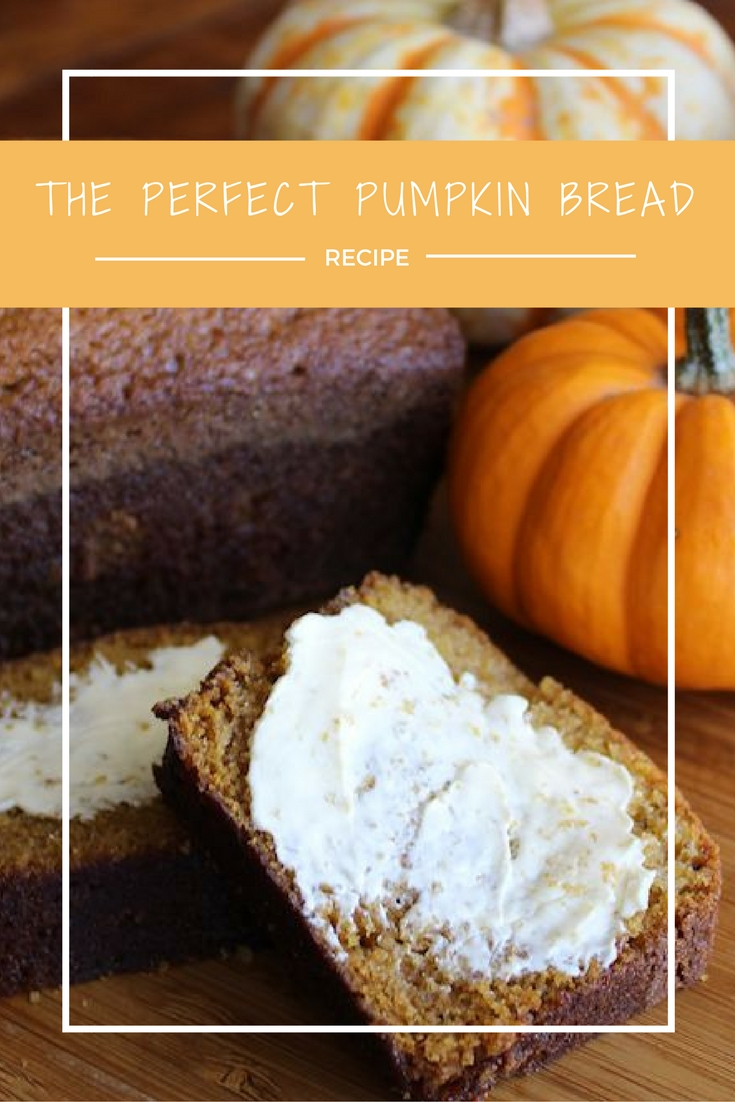 The Perfect Pumpkin Bread www.herviewfromhome.com