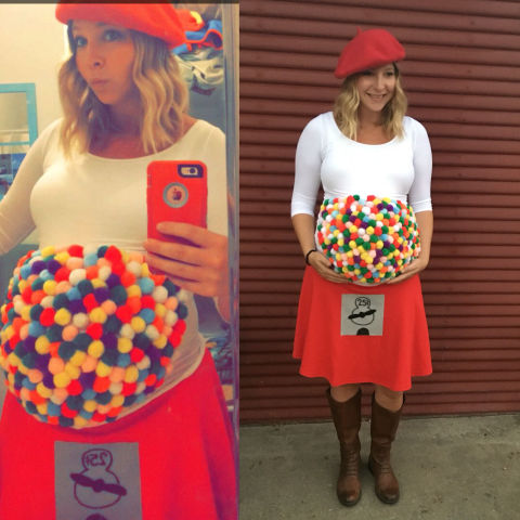 8 DIY Maternity Halloween Costumes For Pregnant Women – Her View ...