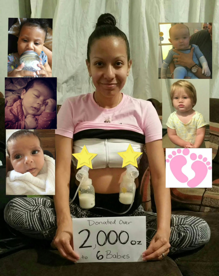 Grieving Mother Pumps Nearly 16 Gallons Of Milk For Families In Need www.herviewfromhome.com