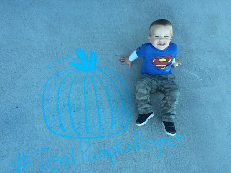 Teal Pumpkins Can Save My Son's Life www.herviewfromhome.com
