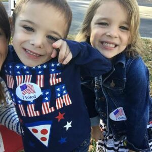 Here's Why I Bring My Kids To The Polls