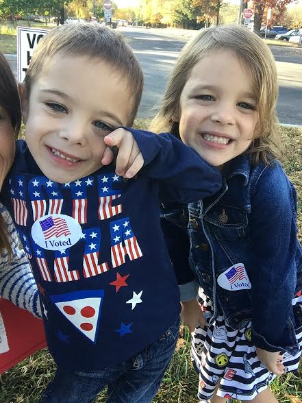 Here's Why I Bring My Kids To The Polls www.herviewfromhome.com