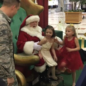 Santa, Can You Bring My Daddy Home?  Nebraska Girls Get Christmas Wish and We're All Crying