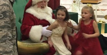 Santa...Can You Bring My Daddy Home? Nebraska Girls Get Christmas Wish and We're All Crying www.herviewfromhome.com