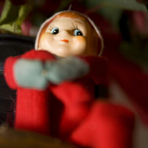 An Open Letter to Santa's Elf: Stay Off My Shelf