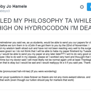 Nebraska College Student Sends Embarrassing E-mail And Is Using Her Social Media Celebrity Status For Good