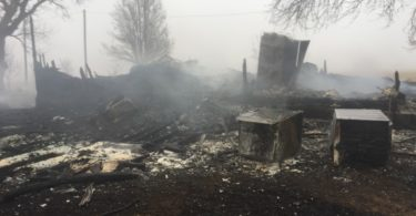 Home burns to ground during Christmas morning fire