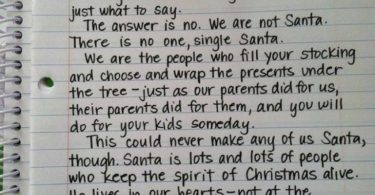 Mom Tells Son The True Meaning Of Santa: This Is What We Should All Share! www.herviewfromhome.com