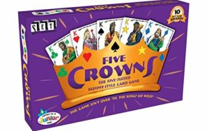 A family favorite card game called Five Crowns