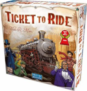 A fun train-themed geography game