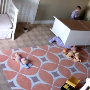2-Year-Old Saves Twin Brother After A Dresser Falls On Him:  A Must Watch For All Parents