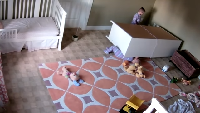 2-Year-Old Saves Twin Brother After A Dresser Falls On Him: A Must Watch For All Parents www.herviewfromhome.com