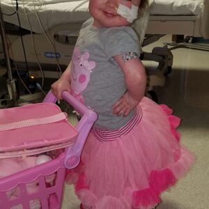 Brave Little Girl Provides Faith and Smiles as She Battles Rare Blood Disorder