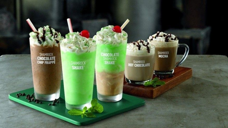There's Now 5 Versions of The Shamrock Shake - And We're All Freaking Out! www.herviewfromhome.com