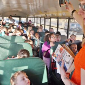 Innovative Library Creates a Busload of Readers: We Love This Bus Driver!
