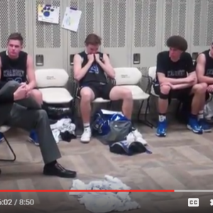 """It's About Life Lessons"" Coach Gives Inspirational Speech After Heartbreaking State Tourney Loss"