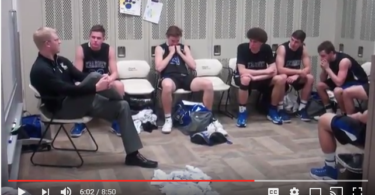 """""""It's About Life Lessons"""" Coach Gives Inspirational Speech After Heartbreaking State Tourney Loss www.herviewfromhome.com"""