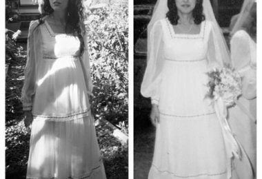 My Mother's Wedding Gown www.herviewfromhome.com
