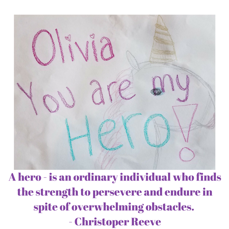 Olivia Loves Unicorns, Hates Cancer And Could Use Your Prayers