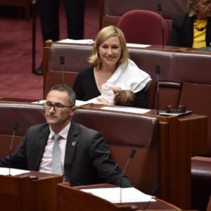 Making History: The Australian Senator Who Breastfed During Parliament This Week