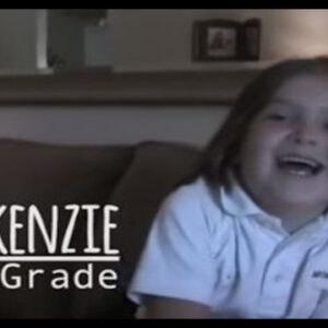 Watch this Little Girl Grow Up Through all Her First Days of School