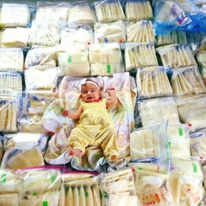 It Takes a Village: Mom Receives 2,800 Ounces of Donated Breastmilk