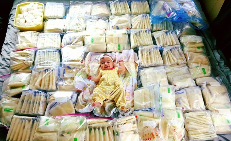 It Takes a Village: Mom Receives 2,800 Ounces of Donated Breastmilk www.herviewfromhome.com