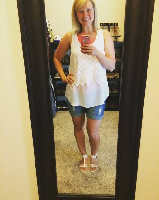 I Finally Bought Shorts Two Sizes Up From My Pre-Pregnancy Size. Here's What I Found Out. www.herviewfromhome.com