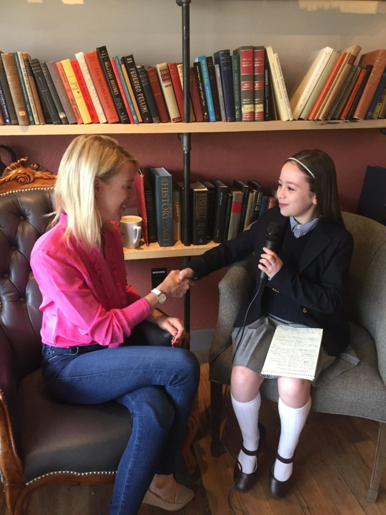 4th Grader Becomes National Sensation as Real Life Reporter www.herviewfromhome.com