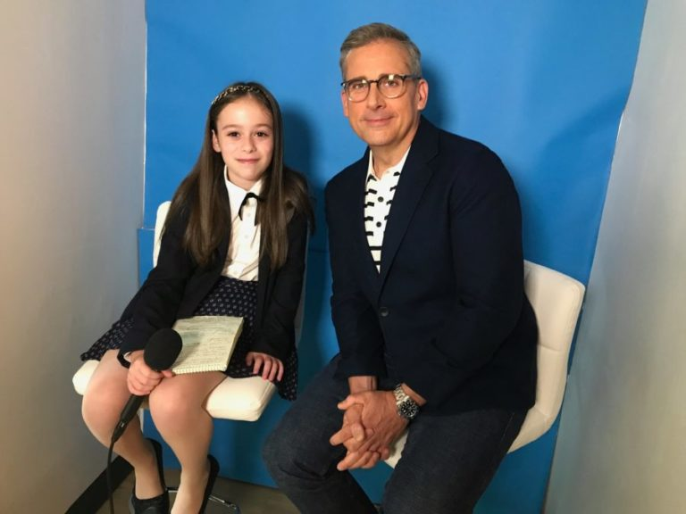 10 year old Shayna Rose of the Rose Reporter is making national headlines interviewing famous celebrities and inspirational figures.