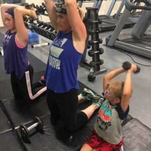 Working Out with Kids