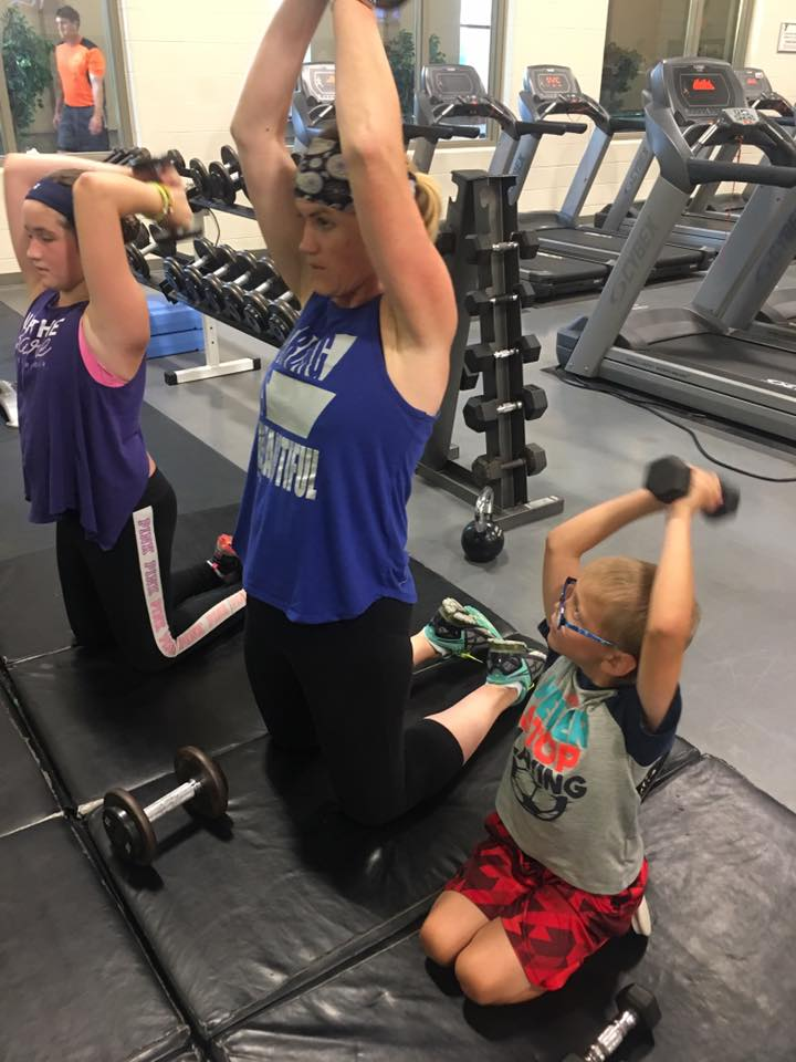 Working Out with Kids www.herviewfromhome.com