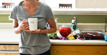 Let's Stop Talking About Our Dirty Counters, And Start Talking About Our Dirty Laundry www.herviewfromhome.com