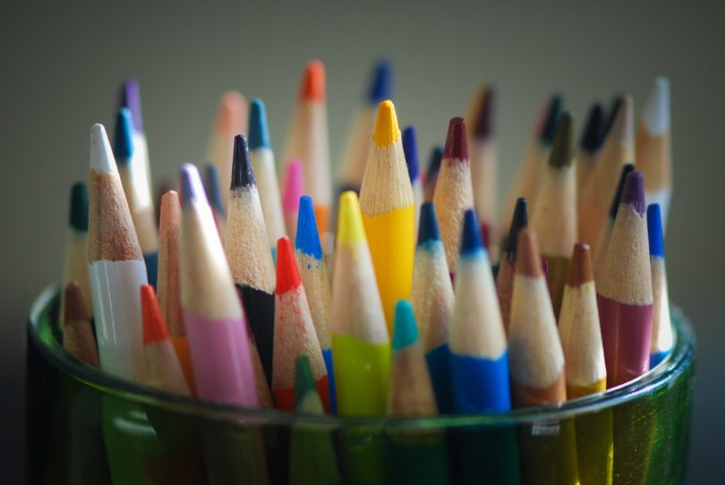 The 5 Stages of Motherhood During Back to School Supply Shopping www.herviewfromhome.com