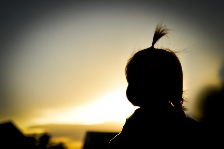 The Day I Learned To Let Positivity Stand Taller Than My Daughter's Ponytail www.herviewfromhome.com