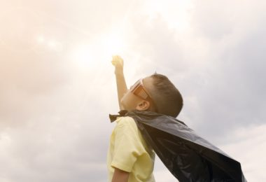 How Can Surviving Childhood Cancer Make You Lucky? www.herviewfromhome.com